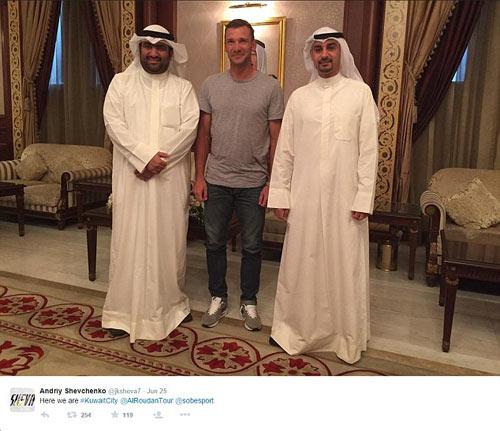 """Đá giao hữu, Diego Costa vẫn """"hết mình"""" tại Kuwait - 4"""