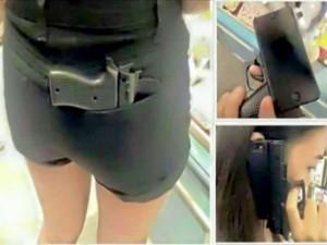 Vỏ bảo vệ iPhone hình khẩu súng khiến cảnh sát lo ngại
