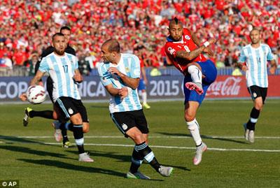 TRỰC TIẾP Chile - Argentina: Luân lưu định mệnh (KT) - 3