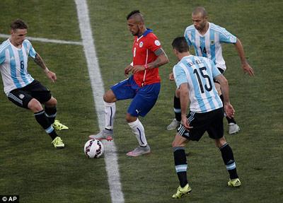 TRỰC TIẾP Chile - Argentina: Luân lưu định mệnh (KT) - 6
