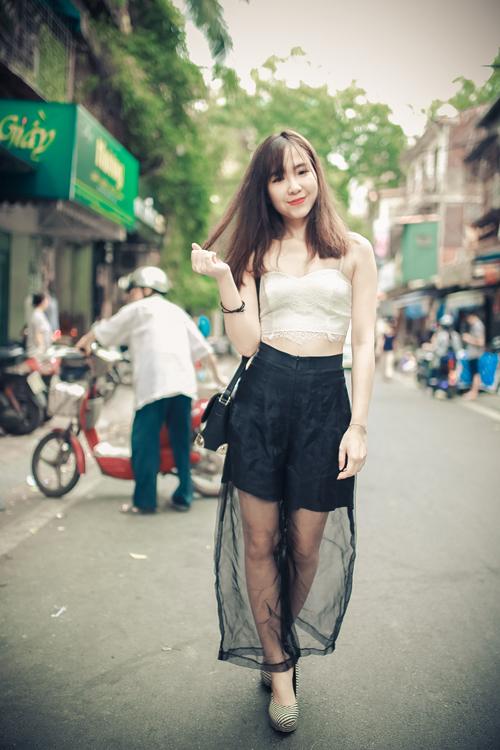Thiếu nữ Hà thành nổi bật với phong cách sành điệu - 3