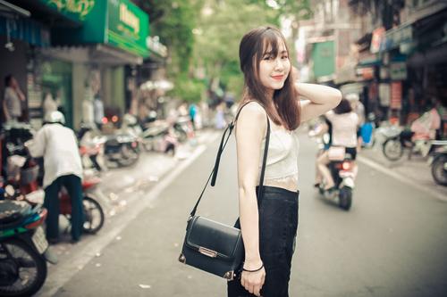 Thiếu nữ Hà thành nổi bật với phong cách sành điệu - 4