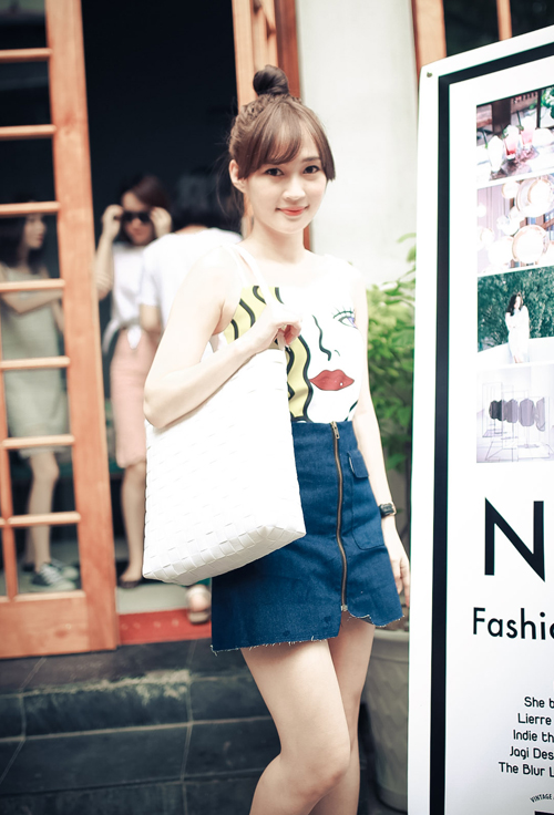Thiếu nữ Hà thành nổi bật với phong cách sành điệu - 2