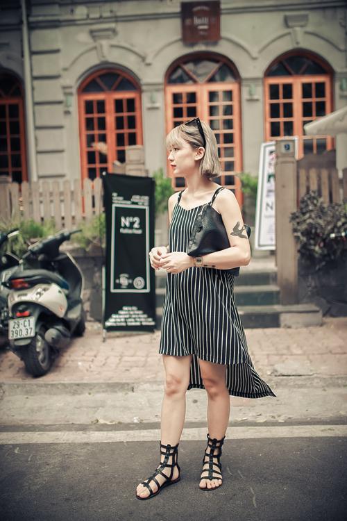 Thiếu nữ Hà thành nổi bật với phong cách sành điệu - 10