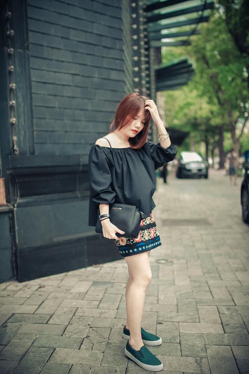 Thiếu nữ Hà thành nổi bật với phong cách sành điệu - 11