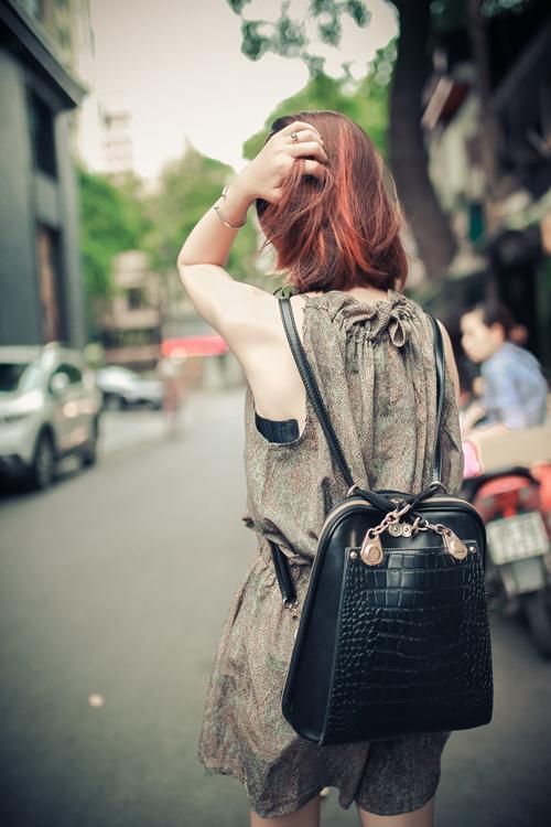 Thiếu nữ Hà thành nổi bật với phong cách sành điệu - 9