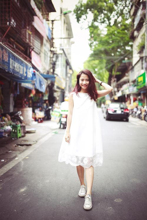 Thiếu nữ Hà thành nổi bật với phong cách sành điệu - 14