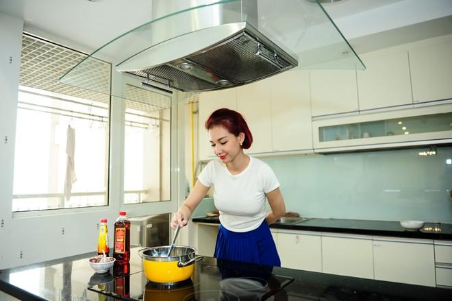 Thăm căn hộ cao cấp của Quỳnh Chi tại Sài Gòn - 4