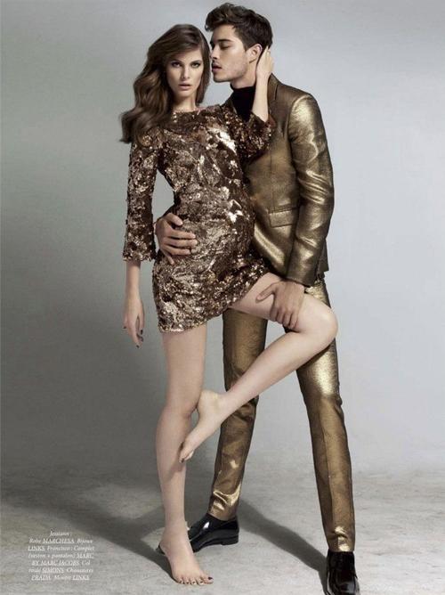 11 cặp đôi người mẫu khiến bạn phải phát ghen tị - 14