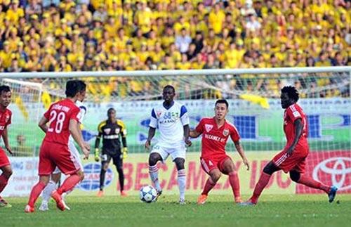 V-League 2015: Tài sản quý của bóng đá xứ Nghệ - 1