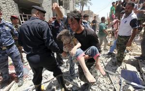 Chiến đấu cơ Su-25 làm rơi bom, 7 thường dân Iraq chết thảm