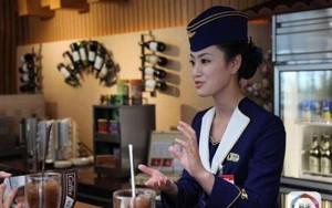 Dàn mỹ nữ Triều Tiên đẹp hút hồn tại sân bay Bình Nhưỡng