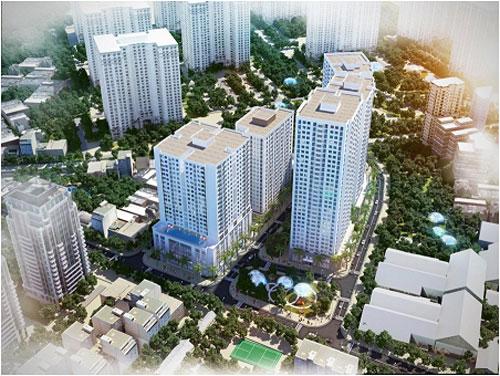 """New Horizon City bước vào điểm """"nóng"""" tiến độ, ma lực từ thiết kế Singapore - 3"""
