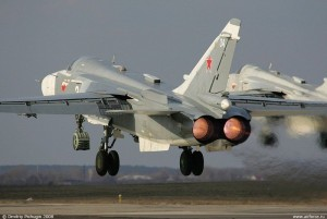 Máy bay ném bom S-24 rơi tại Nga, 2 phi công thiệt mạng