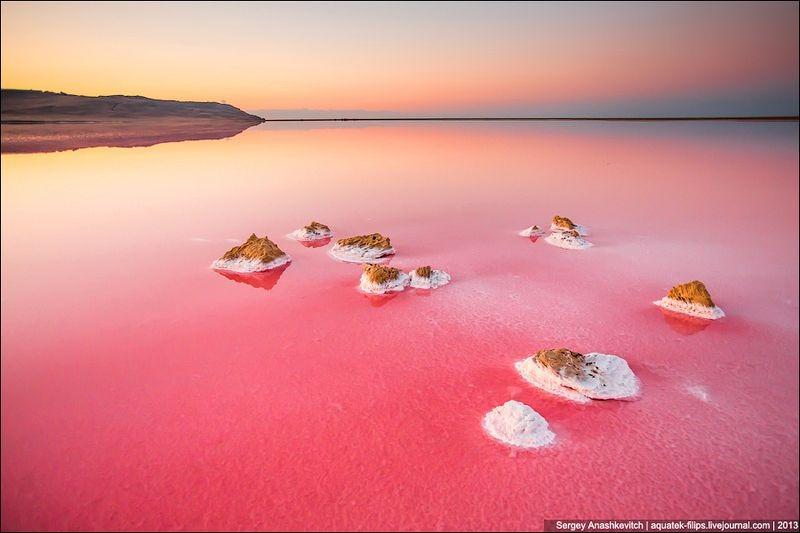 Tuyệt đẹp hồ muối hồng thơ mộng ở Ukraine - 2