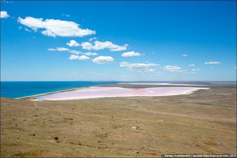Tuyệt đẹp hồ muối hồng thơ mộng ở Ukraine - 6