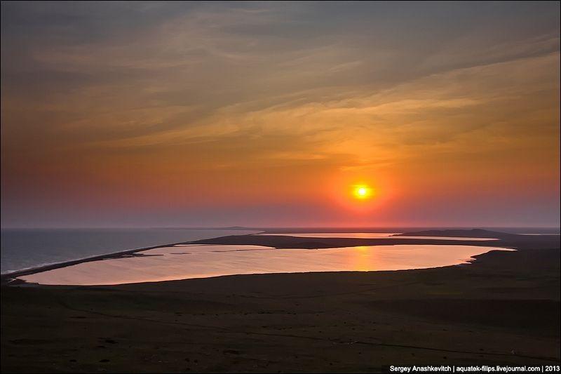 Tuyệt đẹp hồ muối hồng thơ mộng ở Ukraine - 12