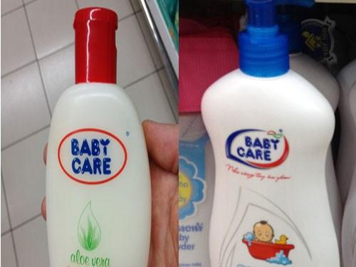 Đình chỉ lưu hành 2 loại sữa tắm trẻ em Baby Care - 1