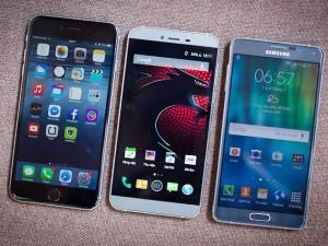 Hero X so dáng cùng iPhone 6 Plus, Galaxy Note 4