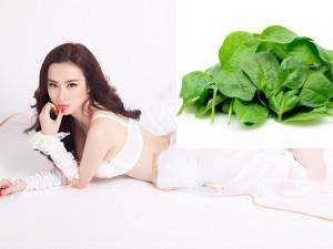 Dáng đẹp như người mẫu nhờ sinh tố rau cải