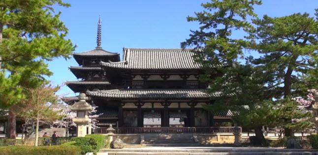 Du lịch chùa Horyuji