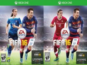 Các nữ tuyển thủ xuất hiện trong game FIFA 16