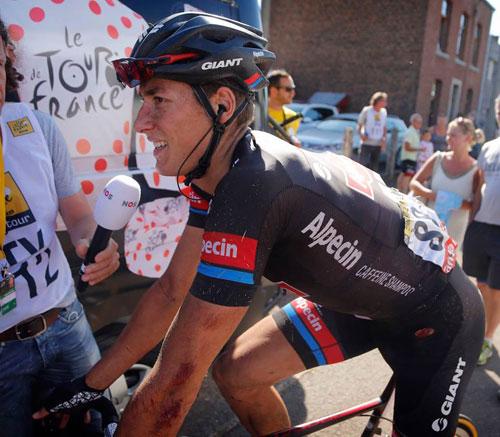 Team GIANT-Alpecin cùng bộ quần áo công nghệ mới trong giải Tour de France - 4