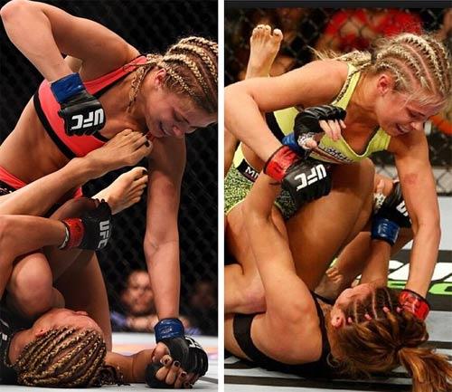 Ngất ngây với nữ võ sĩ UFC đẹp tựa Ronda Rousey - 5