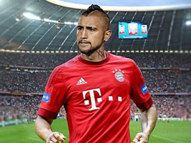 """""""Đấu sĩ"""" Vidal tới Bayern: Thêm chất thép để mơ C1"""