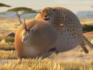 """""""Chết cười"""" với clip khi động vật trở nên béo ú"""