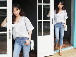 4 kiểu quần jeans sành điệu cần cập nhật trong tủ