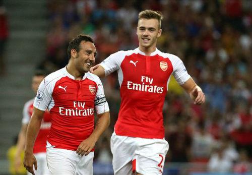 Arsenal - Lyon: Thử thách ở Emirates - 1