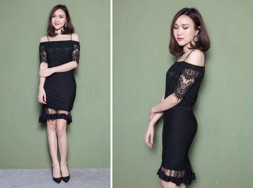 Chọn mua áo hở vai ngọt ngào như Hoàng Thùy Linh - 9