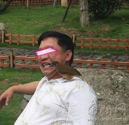 Đại gia Trung Quốc: Dùng chim để... xỉa răng - 1