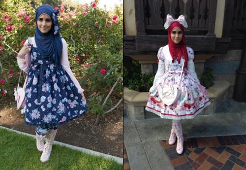 """Thời trang """"tiểu thư"""" Nhật chinh phục thiếu nữ đạo Hồi - 3"""