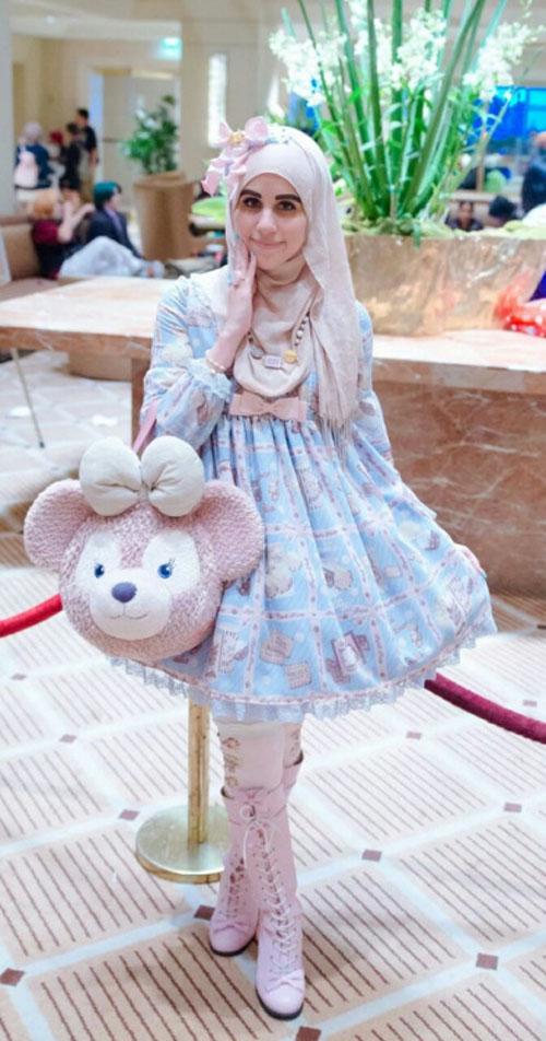 """Thời trang """"tiểu thư"""" Nhật chinh phục thiếu nữ đạo Hồi - 2"""