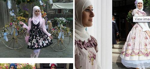 """Thời trang """"tiểu thư"""" Nhật chinh phục thiếu nữ đạo Hồi - 4"""