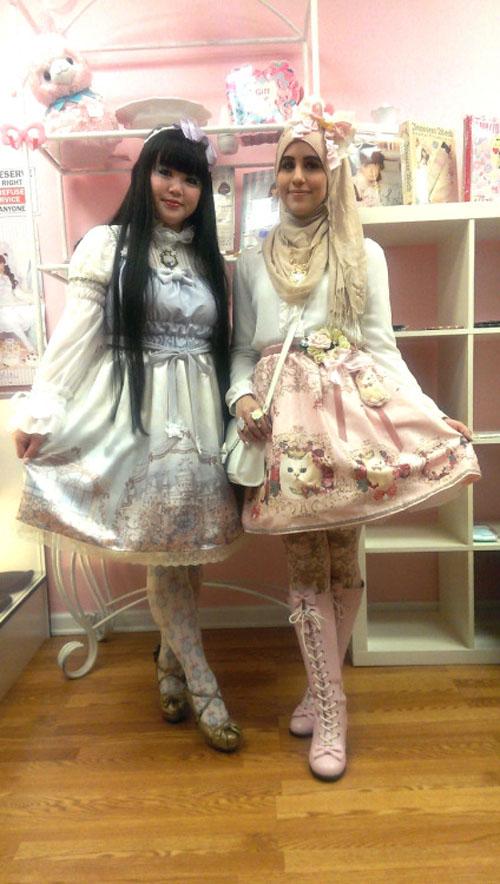 """Thời trang """"tiểu thư"""" Nhật chinh phục thiếu nữ đạo Hồi - 7"""
