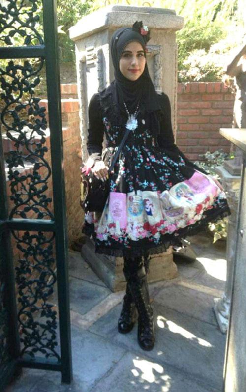 """Thời trang """"tiểu thư"""" Nhật chinh phục thiếu nữ đạo Hồi - 6"""