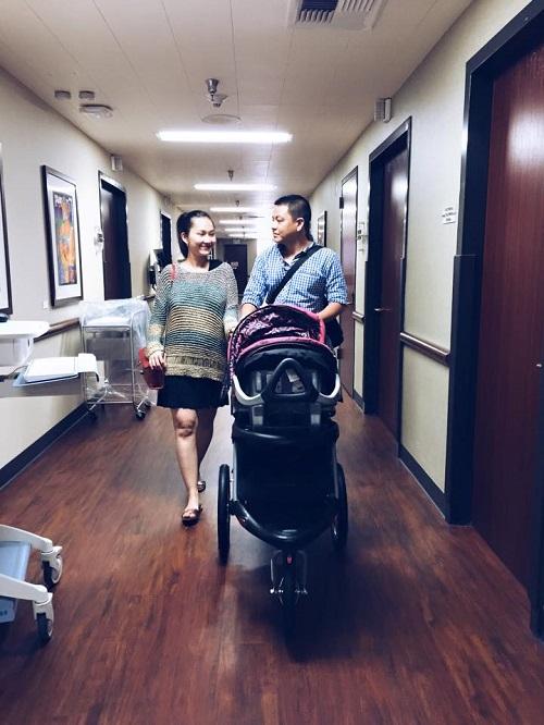 Kim Hiền xuất viện sau 2 ngày sinh con - 2