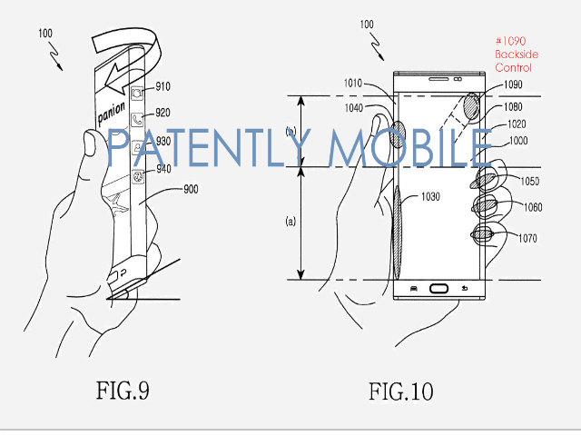 Samsung phát triển cảm ứng sau lưng cho điện thoại - 2