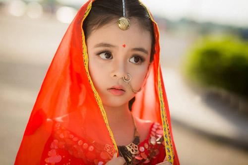 """Mê mẩn với vẻ đẹp của """"Cô dâu 8 tuổi phiên bản Việt"""" - 5"""