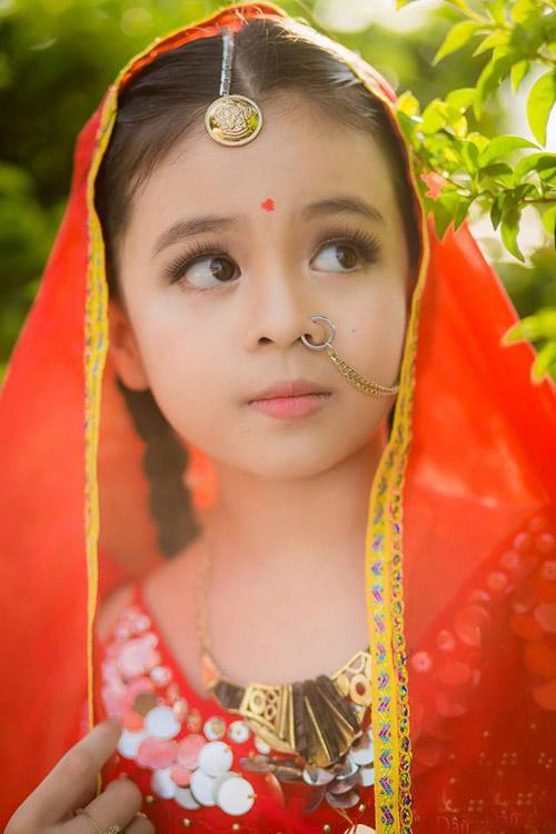 """Mê mẩn với vẻ đẹp của """"Cô dâu 8 tuổi phiên bản Việt"""" - 10"""