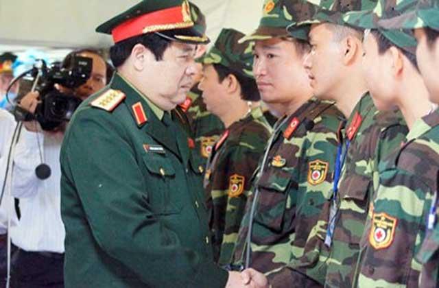 Đại tướng Phùng Quang Thanh trở lại làm việc từ đầu tuần tới - 1