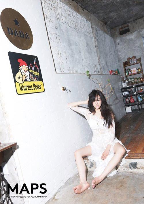 Tiffany (SNSD) khoe lưng trần và hình xăm ở vòng 1 - 4