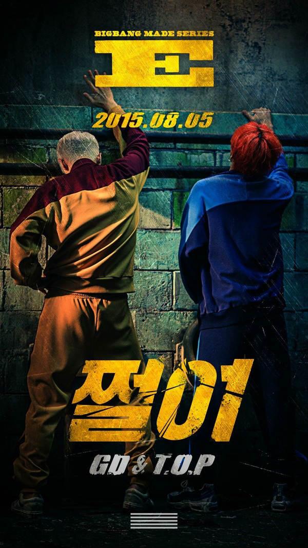 """Bìa đĩa """"đáng xấu hổ"""" của G-Dragon & TOP lộ diện - 1"""