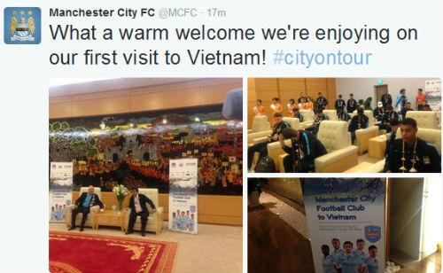 Man City đến Hà Nội trong cơn mưa tầm tã - 6