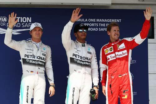 Phân hạng Hungarian GP: Thế độc tôn - 1