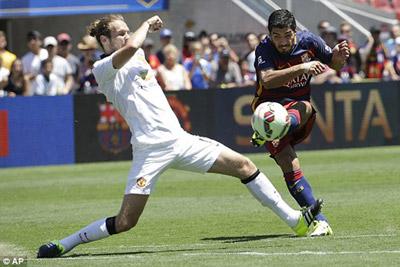 TRỰC TIẾP Barca - MU: Cơ hội cho tuyển trẻ (KT) - 6