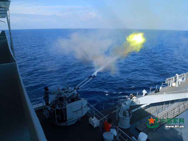 Vừa tập trận trên Biển Đông, TQ vừa vu vạ láng giềng - 1
